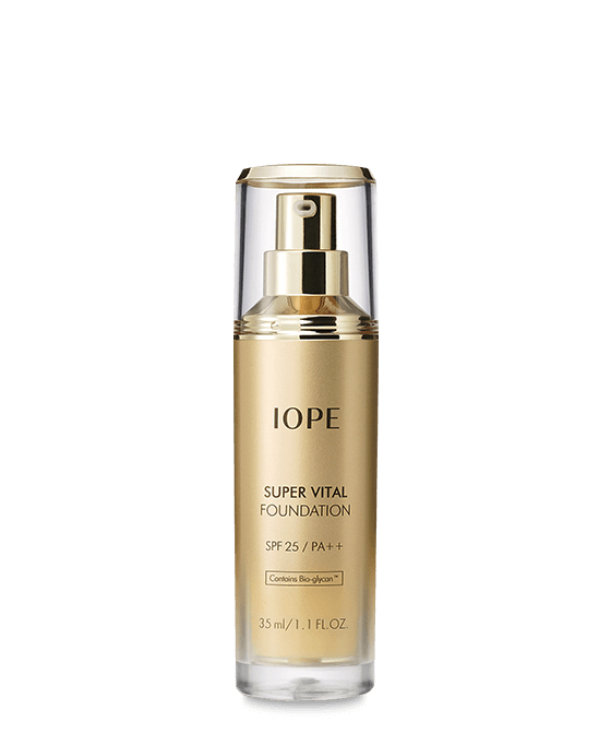 IOPE MAKEUP SUPER VITAL FOUNDATION SPF 25 PA++